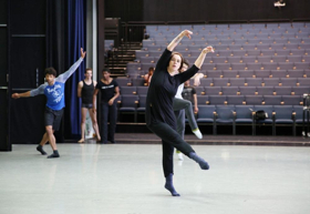 In Aqua Motion with Richmond Ballet