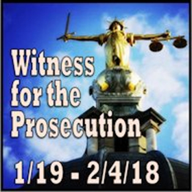 WITNESS FOR THE PROSECUTION Takes the Stand at ActorsNET