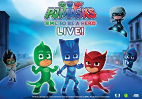 PJ MASKS LIVE Comes to the Eccles