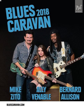 Ruf's Blues 2018 Caravan Tour Comes to The Stanhope House
