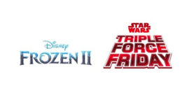 Disney Announces Global Launch of STAR WARS and FROZEN 2-Inspired Product