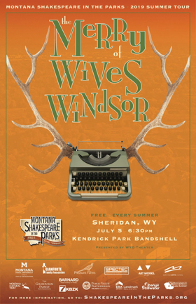 The WYO Theater Presents Montana Shakespeare in the Parks Performing THE MERRY WIVES OF WINDSOR