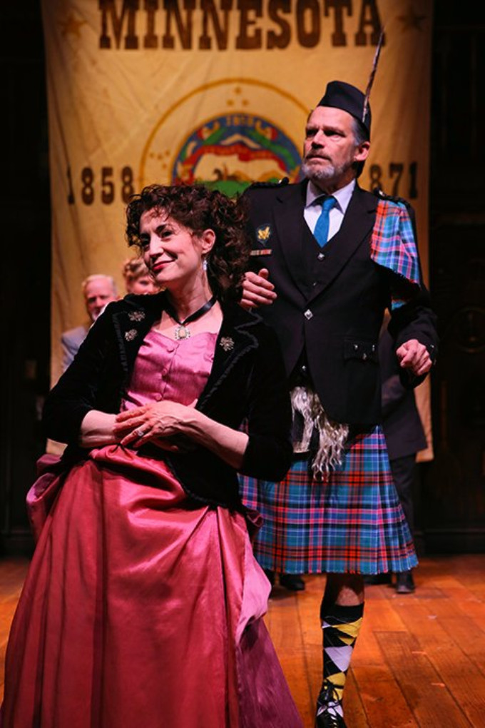 BWW Review: Heightened Silliness Meets Speculative History: 