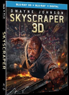 Dwayne 'The Rock' Johnson Stars in SKYSCRAPER Available on Digital Today