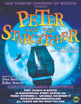 Hub Theatre Co Announces PETER AND THE STARCATCHER