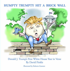 Theater Critic David Finkle Releases New Book Of Verse, 'Humpty Trumpty Hit A Brick Wall'