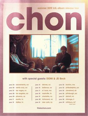 CHON Announces U.S. Album Release Tour