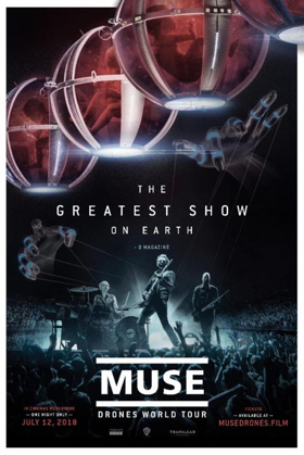 Muse to Release Drones World Tour In Cinemas Worldwide For One Night Only July 12