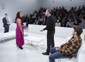 BWW Review: World Premiere of THE WHITE CARD: An Invitation to Talk