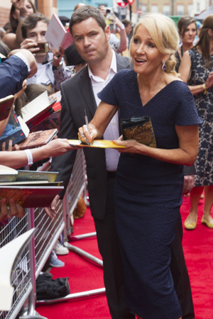JK Rowling Appointed Companion of Honour By Prince William
