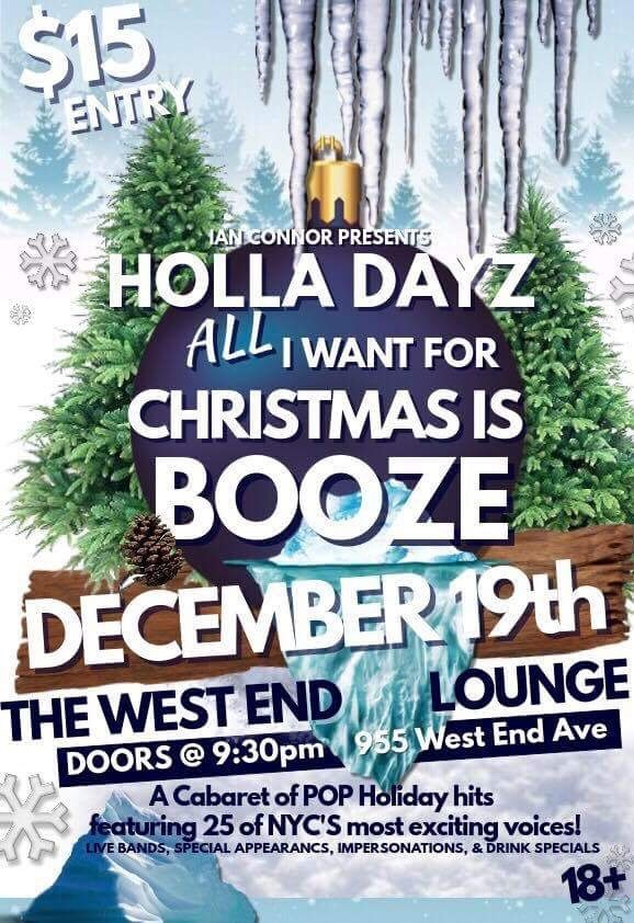 HOLLA DAYZ CABARET Will Feature Songs By Michael Mott, Carner And Gregor, Selda And Derek, And More