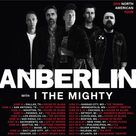 I the Mighty Announces Upcoming Tour with Anberlin