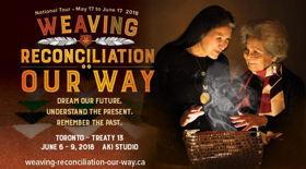 Native Earth Presents A Vancouver Moving Theatre Production WEAVING RECONCILIATION: OUR WAY