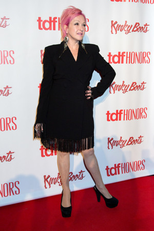 Cyndi Lauper to Host Gala Performance of KINKY BOOTS in Support of Heads Together