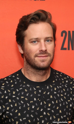 Armie Hammer Talks STRAIGHT WHITE MEN, Toxic Masculinity, and Making His Broadway Debut