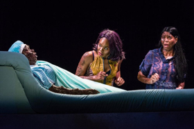 BWW Review: Mixed Blood Theatre's Regional Premiere of the Revenge Fantasy Play IS GOD IS is Filled with Shocking Surprises from Delightful to Horrific