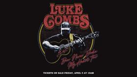 Luke Combs Announces 'Beer Never Broke My Heart' Fall Tour