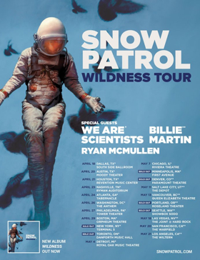 WE ARE SCIENTISTS Announce Spring Tour Supporting Snow Patrol
