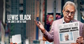 Lewis Black To Come To Hershey Theatre