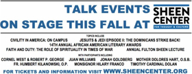 Talk Events At The Sheen Center Feature Mother Dolores Hart, Juan Williams & More