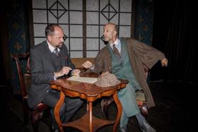 Sherlock Holmes Meets Robert Louis Stevenson at the Long Beach Playhouse