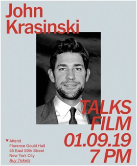 John Krasinski Discusses A QUIET PLACE with TimesTalks January 9