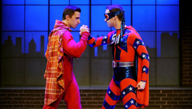 BWW Review: UP AND AWAY Sweetly Skewers Superheroes at CLO Cabaret