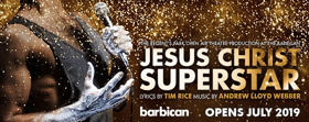 Initial Casting Announced For JESUS CHRIST SUPERSTAR at the Barbican