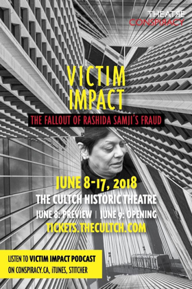 Theatre Conspiracy Presents The World Premiere Of VICTIM IMPACT