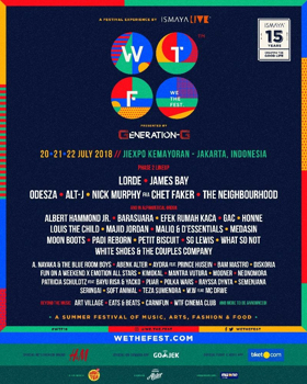 WE THE FEST Reveals Second Phase Lineup Including Nick Murphy, What So Not, Majid Jordan, & More
