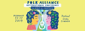 Folk Alliance International Announces 2019 Official Showcase Artists