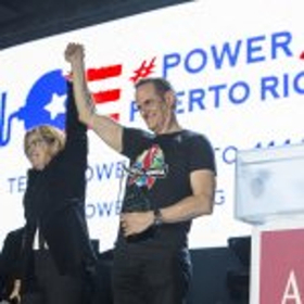Becky G., Sheila E. Wow Crowd at AHF's Miami World AIDS Day Concert Honoring San Juan Mayor