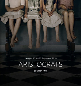 Full Casting Announced For Brian Friel's ARISTOCRATS At The Donmar Warehouse
