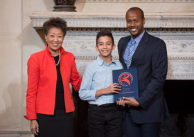 SAY's Confident Voices Program Receives 2017 National Arts and Humanities Youth Program Award