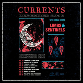 LIMBS Announces December Tour with Currents