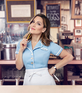 Shoshana Bean to Stick with the Diner in WAITRESS Through July 7