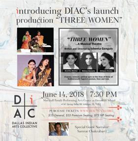 Multi-Disciplinary Indian Arts Non-Profit Launches In Dallas, With THREE WOMEN