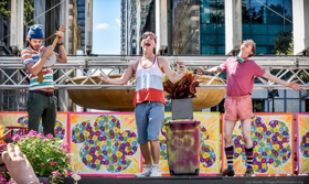 The Drilling Company Brings Shakespeare Back to Bryant Park