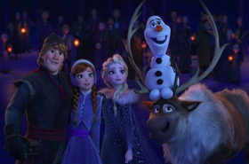 OLAF'S FROZEN ADVENTURE Makes Broadcast Television Debut on ABC, 12/14