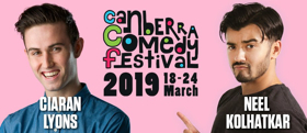 Frontier Comedy Announces Shows From Ciaran Lyons And Neel Kolhatkar For Canberra Comedy Festival