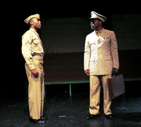 Negro Ensemble Remounts A SOLDIER'S PLAY