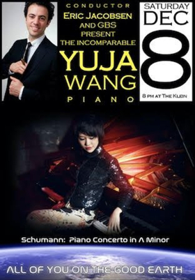 World Renowned Piano Prodigy Yuja Wang Joins GBS for One Special Night
