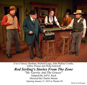 Review: ROD SERLING'S STORIES FROM THE ZONE Journeys into a Wondrous Land Whose Boundaries are that of the Imagination