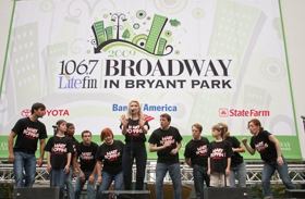 THE BAND'S VISIT, SPONGEBOB, ONCE ON THIS ISLAND, and More to Perform at Broadway in Bryant Park