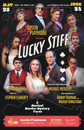 BWW Review: LUCKY STIFF Stylishly Executed Musical Souffle