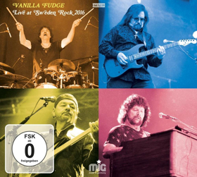 Vanilla Fudge 'Live At Sweden Rock 2016' Out Today