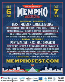Mempho Music Festival Announces Daily Lineup