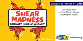 Good Theater Presents SHEAR MADNESS
