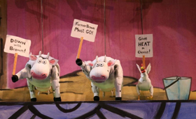 CLICK, CLACK, MOO: COWS THAT TYPE Brings Farmhouse Fun to Center for Puppetry Arts