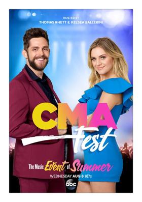 Thomas Rhett and Kelsea Ballerini Return to Host CMA FEST August 8 on ABC